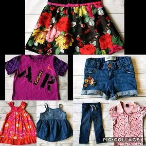 Toddler Girl Size 3/3T Spring/Summer Clothing Lot